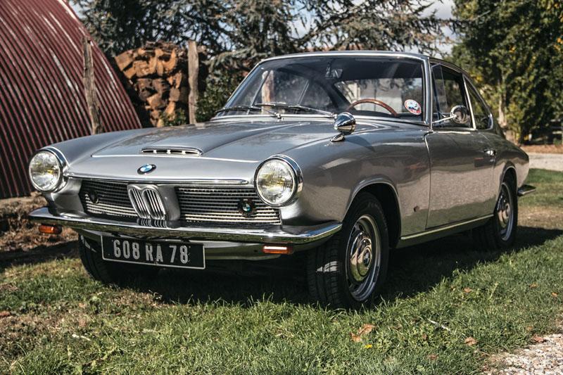 Coupé BMW 1600 GT Frua de 1968