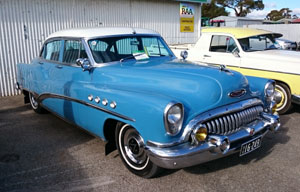1953 Buick Roadmaster Riviera Sedan