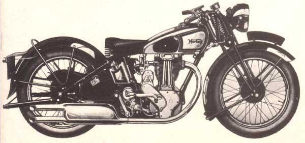 Norton model 18, Carnets de voyage