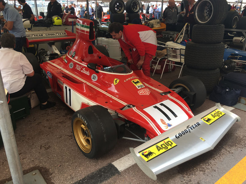 Grand Prix de Monaco Historique, Ferrari de Niki Lauda